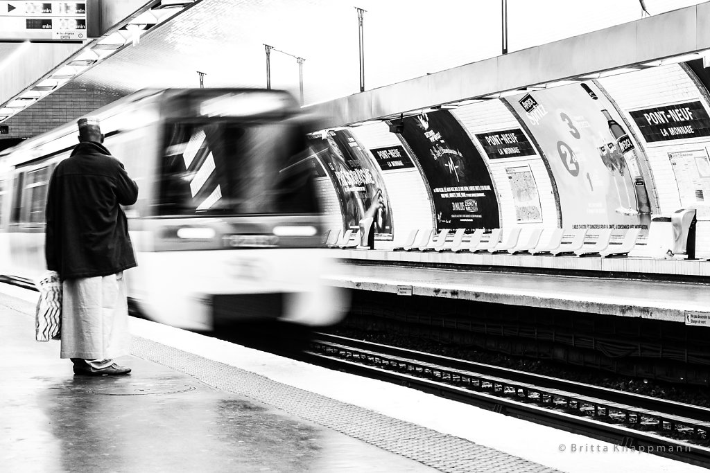 paris - metro